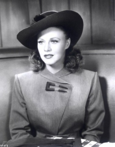 """Image result for images of ginger rogers in kitty foyle"""""""