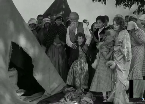 jeanette macdonald singing nearer my god to thee with survivors of the 1906 earthquake in san francisco 1936