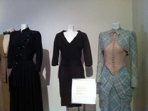 Three Elizabeth Taylor costumes from GIANT, WHO'S AFRAID OF VIRGINIA WOOLF? and FATHER OF THE BRIDE.