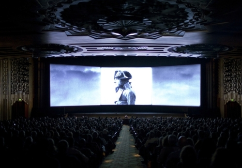 In 2012, the San Francisco Silent Film Festival screened Kevin Brownlow's masterpiece restoration of Abel Gance's NAPOLEON at the Paramount Theatre in Oakland. Over the course of 4 days, 10,000 people packed the theater.