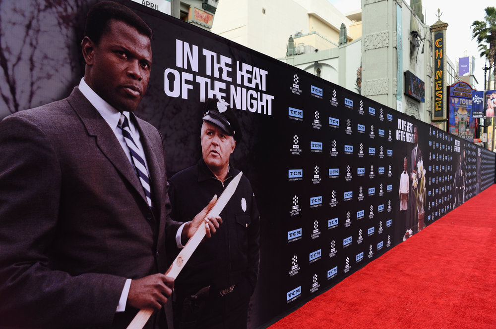 """2017 TCM Classic Film Festival - The 50th Anniversary Screening of """"In the Heat of the Night"""" (1967) Red Carpet & Opening Night"""