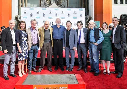 2017 TCM Classic Film Festival - Hand and Footprint Ceremony: Carl and Rob Reiner